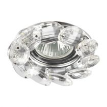 EMITHOR DOWNLIGHT GU10/50W, CHROME/CLEAR (71073)