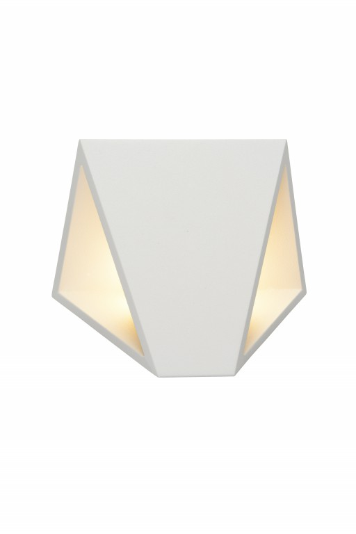 LUCIDE TIXIS Wall Light LED 2x4W IP54 White (17805/08/31)
