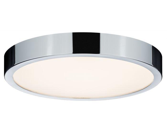 PAULMANN Stropní svítidlo LED Aviar IP44 24W chrom (70882)