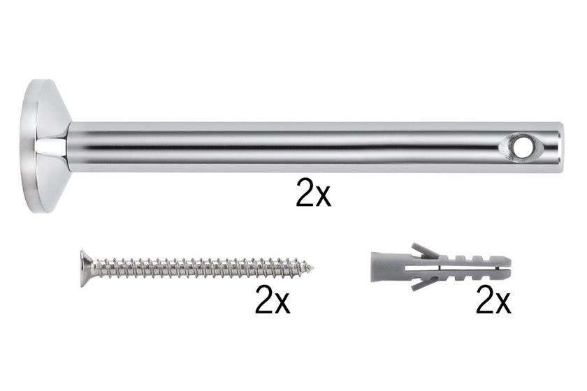 PAULMANN Lankový systém L&E upínák/závěs k našroubování 1 pár 165mm (17824)
