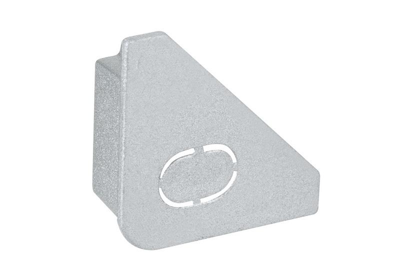 PAULMANN Delta Profil koncovka 2ks balení matný hliník, plast (70266)