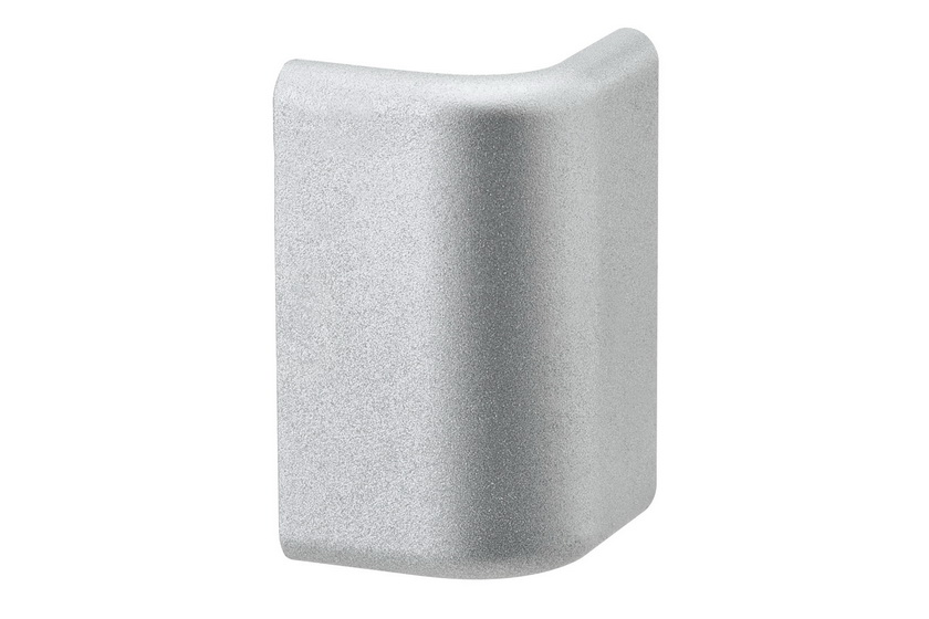 PAULMANN Duo Profil koncovka 2ks balení matný hliník, plast (70274)