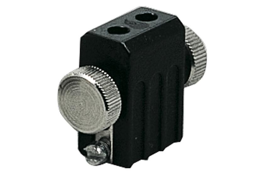 PAULMANN Lankový systém L&E držák žárovek max.1x50W GX5,3 černá 12V kov (97845)