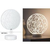 PAULMANN 3D sklo Wool čirá pro 3D Basic (79533)