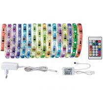 PAULMANN Digitální LED pásek 5m RGB bílá (70480)