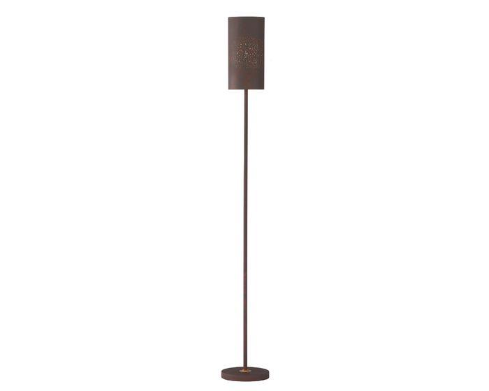 WOFI Stojací lampa Ancona 60W E27 antická hnědá (3136.01.09.7000)