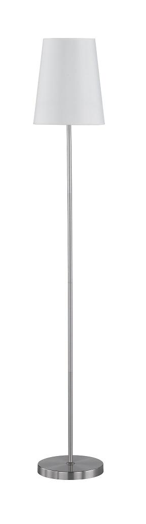 WOFI Stojací lampa FYNN 1x60W E27 bílá ACTION (332901066000)