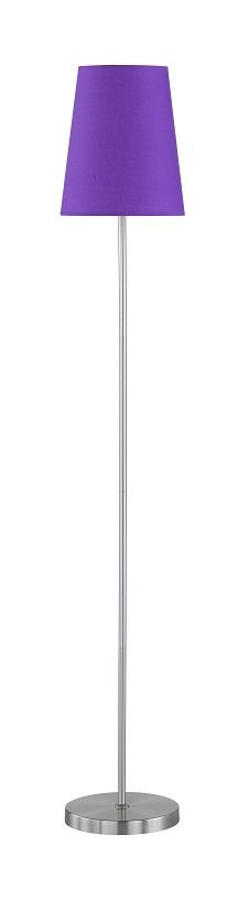 WOFI Stojací lampa FYNN 1x60W E27 fialová ACTION (332901206000)