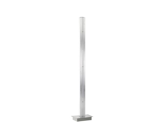 WOFI Stojací lampa Arlon 2x 19W LED 1330lm 3000K stříbrná (3379.02.70.7000)