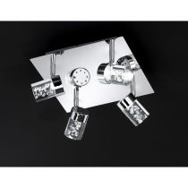 WOFI Koupelnové svítidlo MAAR 4 x 5W, chrom (9806.04.01.0044)