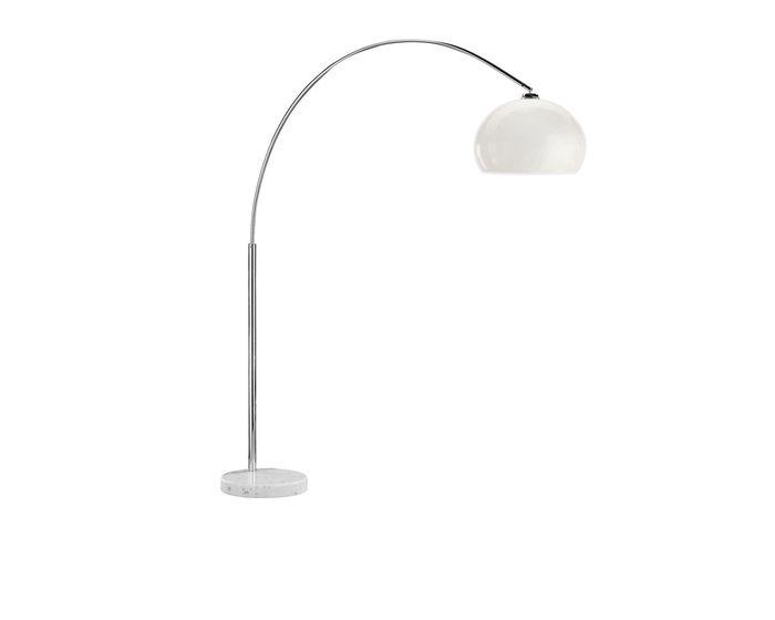 WOFI ACTION Stojací lampa BOW 1x E27 max. 60 W chrom (329401010000)