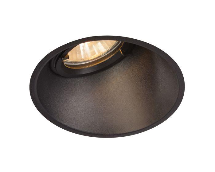 svietidl r1 megapredaj a slv horn a ierne matn gu10 max 50 w 113150. Black Bedroom Furniture Sets. Home Design Ideas