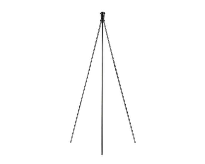 SLV Stojací lampa FENDA E27, chrom, bez stínítka (155492)