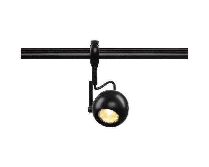SLV BODOVÉ SVÍTIDLO LIGHT EYE GU10 pre EASYTEC II, černé, max. 50W (184690)