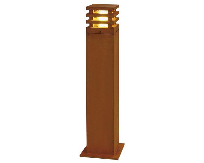 SLV RUSTY 70 LED SQUARE, rezavé železo, LED 3000K (233437)