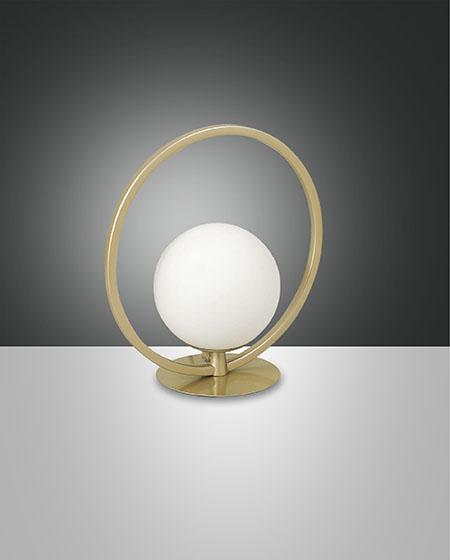 FABAS SIRIO CIRCLE TABLE LAMP GOLD MATT (3388-30-225)