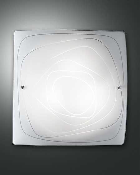 FABAS LYNN CEILING LAMP WHITE L.50X50 CM (3062-64-102)