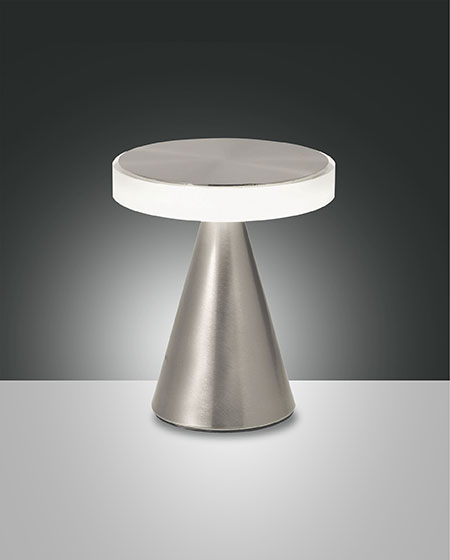 FABAS NEUTRA TABLE LAMP SATINED NICKEL H.200 (3386-34-178)