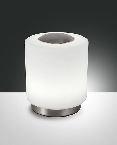 FABAS SIMI TABLE LAMP SATINED NICKEL (3257-30-178)