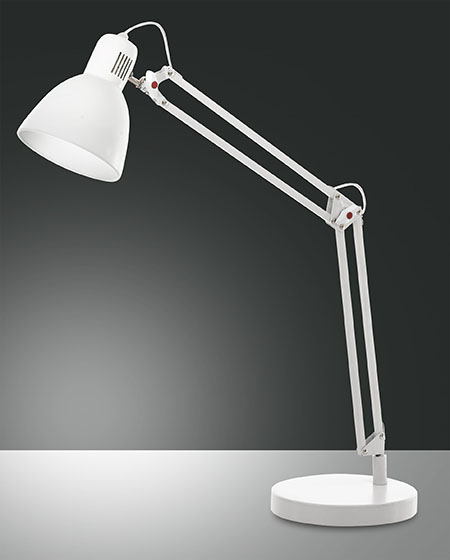 FABAS LISETTA TABLE LAMP WHITE (3015-30-102)