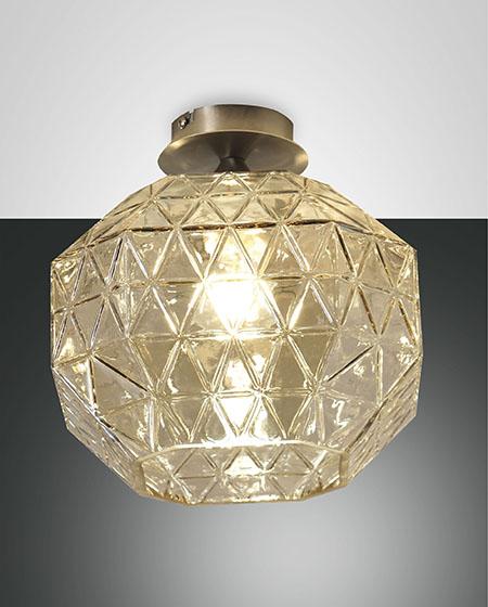 FABAS WAI CEILING LAMP AMBER (3492-61-125)