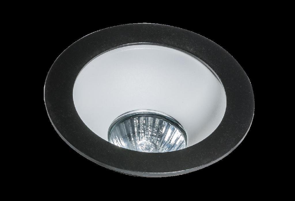 AZZARDO REMO 1 downlight black (GM2118R BK)