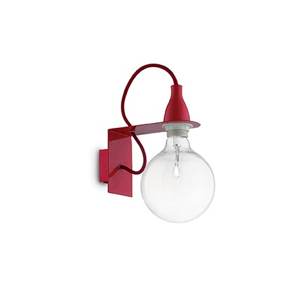 IDEAL LUX Minimal AP1 Rosso (045221)