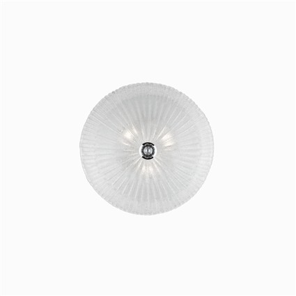 IDEAL LUX Shell PL3 Trasparente (008608)