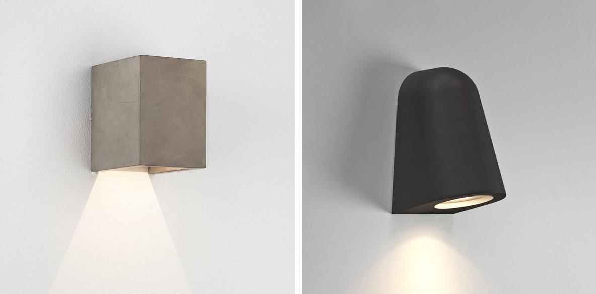 Nástenné svietidlá - minimalistický dizajn
