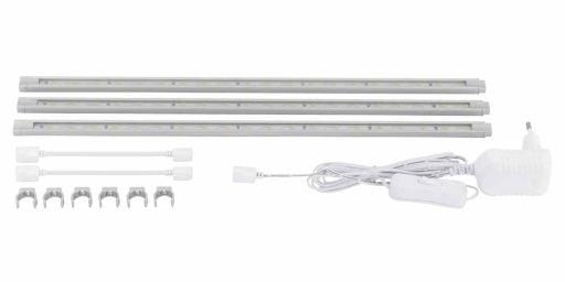 EGLO LED STRIPES 3x1,6W biela            92051