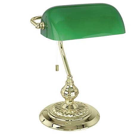 EGLO BANKER zelená / zlatá 90967