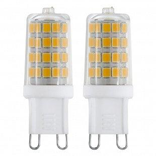 LED žiarovka G9/2x3W 3000K 2ks EGLO