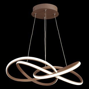 LUXERA PASSO LED BROWN/WHITE