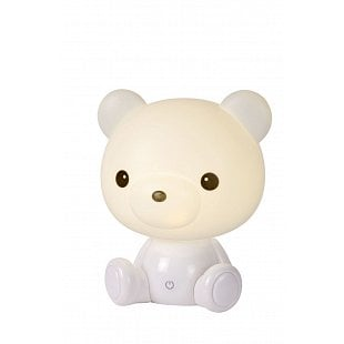 LUCIDE DODO Bear LED Biela