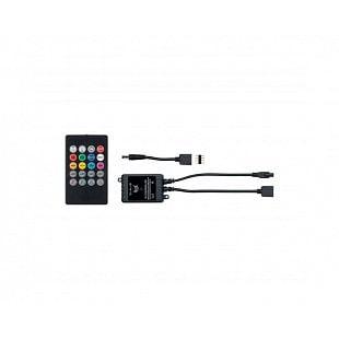 PAULMANN YourLED RGB zvukový senzor max. 60W černá