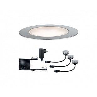 PAULMANN Plug&Shine zemní zápustné svítidlo Floor Eco IP65 3000K