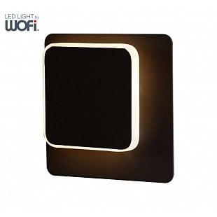 WOFI Nástenné svietidlo SUTTER 4,5W 350lm 3000K černé