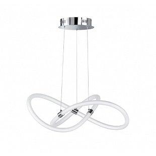 WOFI Závesné svietidlo MIRA LED 37W 3000lm 2900-6500K chrom