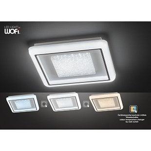 WOFI Stropné svietidlo Rhena 33W 3100lm 3000-6500K
