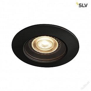 SLV VARU QPAR51 DL, venkovní svítidlo k zabudování do stropu, černá, IP20/65