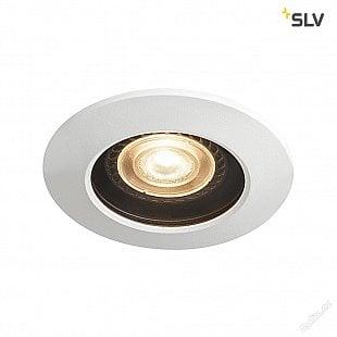 SLV VARU QPAR51 DL venkovní svítidlo k zabudování do stropu, černá / bílá, IP20/65