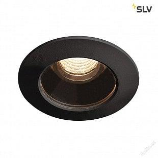 SLV VARU DL, LED venkovní svítidlo k zabudování do stropu, černá, IP20/65, 2700K