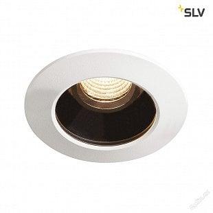 SLV VARU DL, LED venkovní svítidlo k zabudování do stropu, černá / bílá, IP20/65, 2700K
