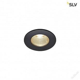 SLV PATTA-I, LED venkovní svítidlo k zabudování do stropu, kulaté DL IP65 černá 1800-3000K