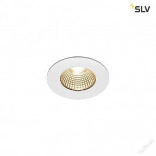 SLV PATTA-I, LED venkovní svítidlo k zabudování do stropu, kulaté DL IP65 bílá 1800-3000K