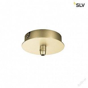 SLV FITU single rozeta, jemná zlatá