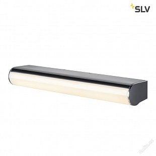 SLV MARYLIN, LED venkovní nástěnné nástavbové svítidlo, chrom, IP44, 3000K, 10W