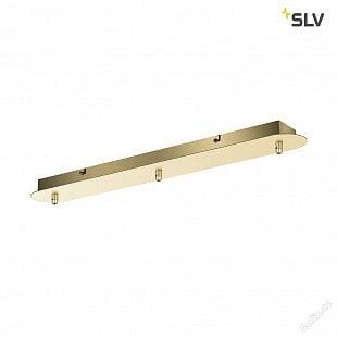 SLV FITU trojitá rozeta, dlouhá, jemná zlatá