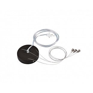 SLV AKCE Závěsná sada pre 1–10V MEDO LED, černá, 5žilový kabel