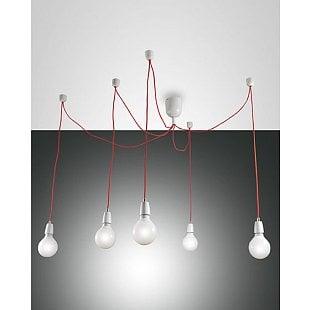 FABAS BLOG SUSPENSION LAMP WHITE 5 LIGHTS